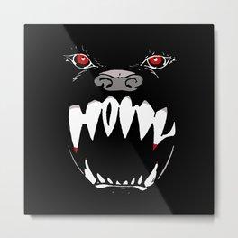 Howl - dark apparel variant Metal Print
