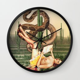 Eve's Revenge  Wall Clock