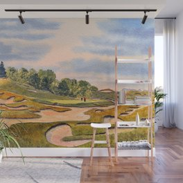 Whistling Straits Golf Course Hole 6 Wall Mural