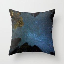 Yosemite Sky Throw Pillow