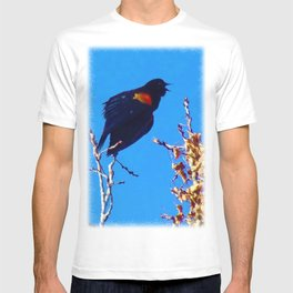 Rainbow Blackbird - Singing from the Heart - Jeronimo Rubio Photography 2016 T-shirt