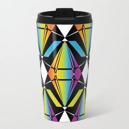 Abstract [RAINBOW] Emeralds pattern Travel Mug