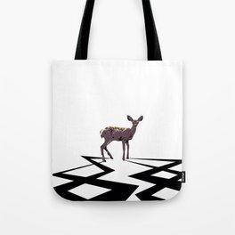 Deer Electrified Tote Bag