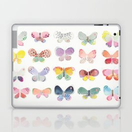 Painted butterflies Laptop & iPad Skin