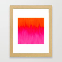 Bursting with Color Framed Art Print