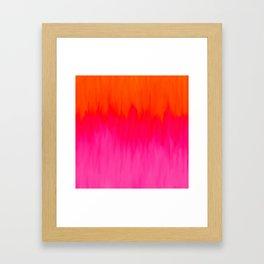 Bursting with Color Framed Art Print
