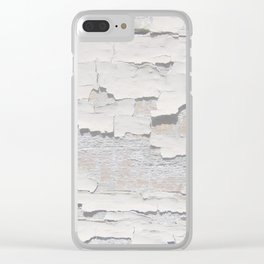 The Old Wall Clear iPhone Case