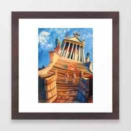 Temple of Antoninus Pius and Faustina Framed Art Print