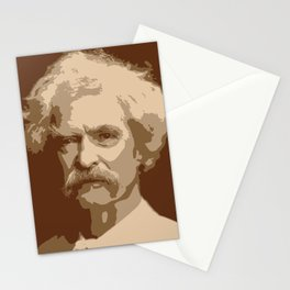 Mark Twain Stationery Cards
