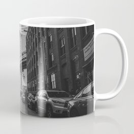 New York City Bridge (Black and White) Coffee Mug