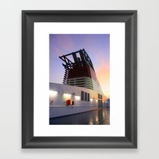Sitting Starboard Framed Art Print