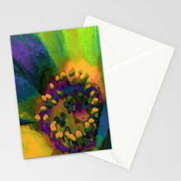 In Sunlight, Green Stationery Cards