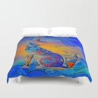 howl Duvet Covers featuring Howl Mystic by BohemianBound