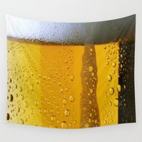 beer Wall Tapestries featuring Beer 3 by Turul