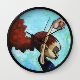 strong convictions Wall Clock