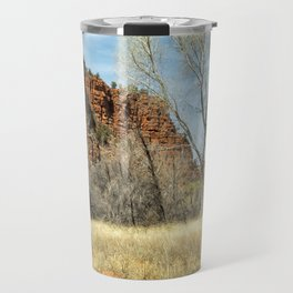 Red Rock State Park Meadow Travel Mug