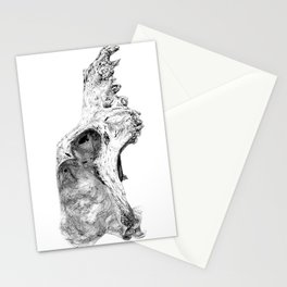 Wolf Skull Stationery Cards