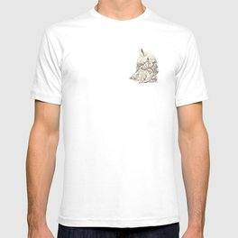 The Rabbit and the Goose T-shirt