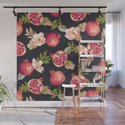 Pomegranate patterns - floral roses fruit nature elegant pattern by betterhome