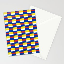 Mix of flag :  Russia and ukraine Stationery Cards
