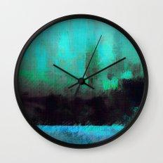 Lysergic Horizon Wall Clock