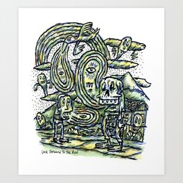 See About Art Print