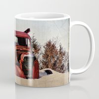 truck Mugs featuring Survivor Truck by PamelasDreams
