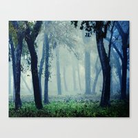 fairytale Canvas Prints featuring Fairytale by Slight Clutter