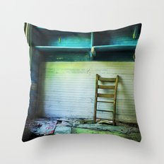 Abandoned Pt.1 Throw Pillow