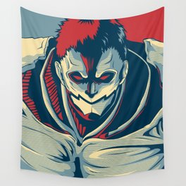 Armored Titan - Warrior Wall Tapestry