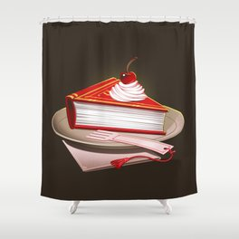 Food For The Brain Shower Curtain