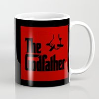 the godfather Mugs featuring The Godfather by SwanniePhotoArt