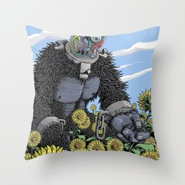The Unshackled Dream Throw Pillow