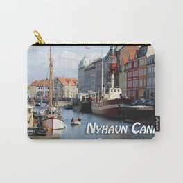 Nyhavn Canal Copenhagen Denmark Carry-All Pouch