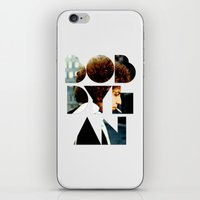 font iPhone & iPod Skins featuring Bob Dylan Font Colour by Fligo
