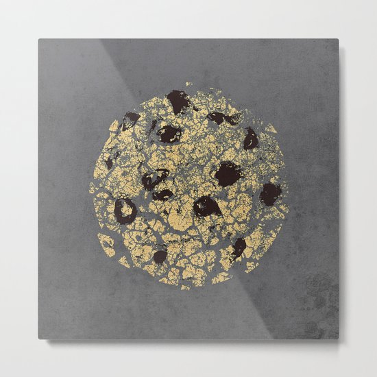crumbling cookie Metal Print