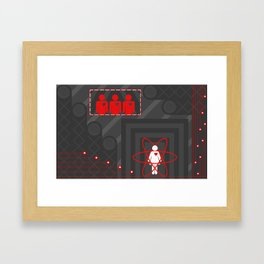 Heart Monitors Framed Art Print