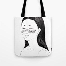 Blooming freckles Tote Bag