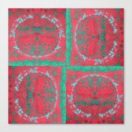 photomosaic 9 Canvas Print