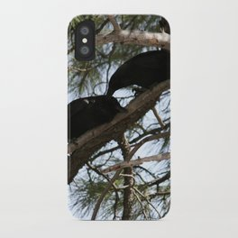Crows in Love iPhone Case
