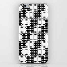 light dominos iPhone Skin