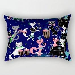 Mambo Kitties Rectangular Pillow