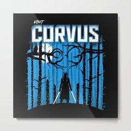 Visit Corvus Metal Print