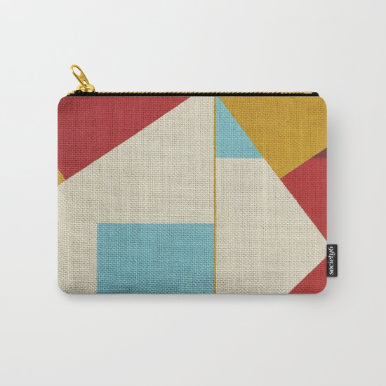 Geometric Thoughts 5 Carry-All Pouch