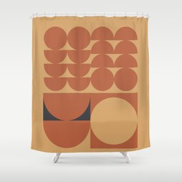 Brown Shower Curtain