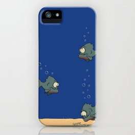 Feed The Fish iPhone Case