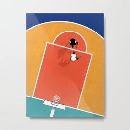 Street Basketball  Metal Print