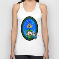 gravity falls Tank Tops featuring Gravity Falls: Hyrule Falls by Macaluso
