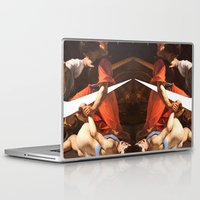 nike Laptop & iPad Skins featuring Fight Nike by CHESSOrdinary