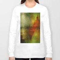 venice Long Sleeve T-shirts featuring Immortal Venice by Joe Ganech